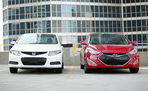2013 Hyundai Elantra Coupe vs 2012 Honda Civic Coupe