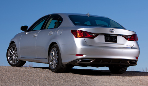 2012 Lexus GS350 Rear