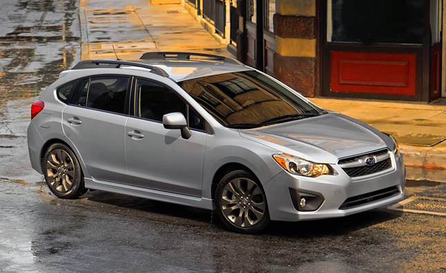 2012 Subaru Impreza Hatchback Review