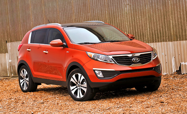 2012 Kia Sportage SX Review