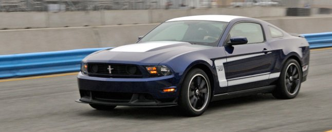 2012 Boss 302 Mustang Gets Revised Power Rating, Optional Track ...