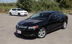 2013 Lexus CT200h vs. 2013 Acura ILX Hybrid - Video