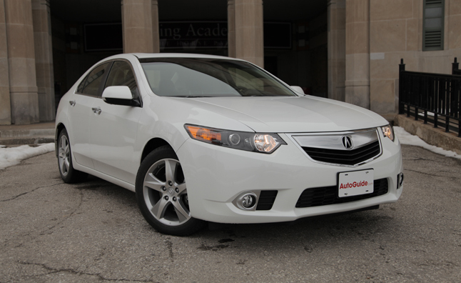 2013 Acura TSX Review - Video