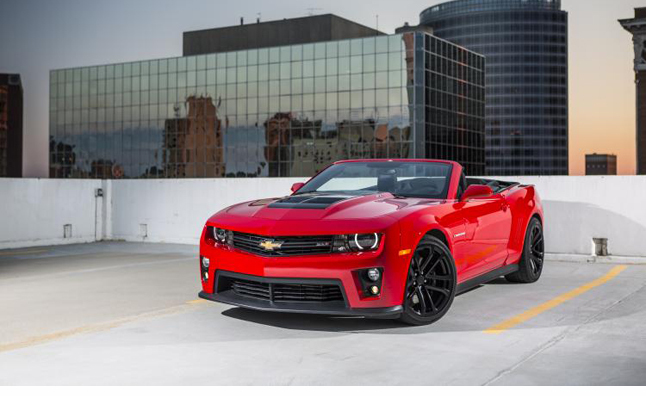 2013 Chevrolet Camaro ZL1 Convertible Review