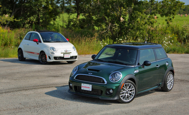 2017 Mini Cooper S Vs Fiat 500c Abarth
