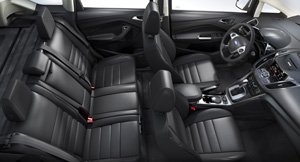 2013 Ford C-Max Seating