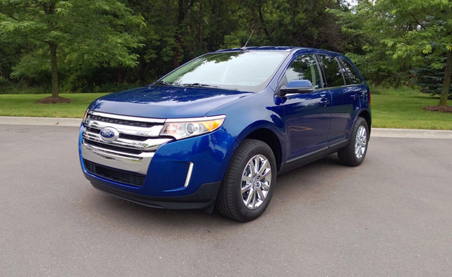 2013 Ford Edge Limited Review Car Reviews
