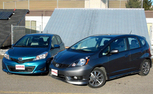 2013 Toyota Yaris vs 2013 Honda Fit