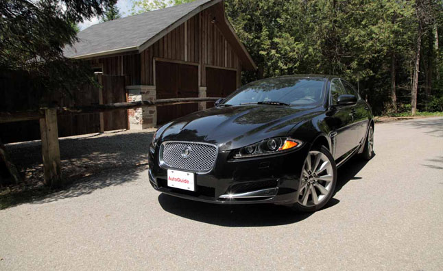 2013 Jaguar XF 3.0 AWD Review U2013 Video