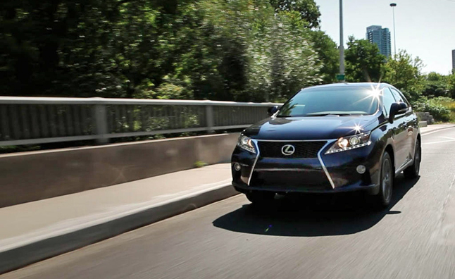2013 Lexus RX350 F Sport Review Video