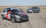 2013 Mazda2 vs Mazda2 B-Spec Race Car