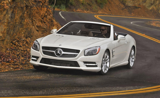 2013 Mercedes-Benz SL550 Roadster Review & Drive - YouTube