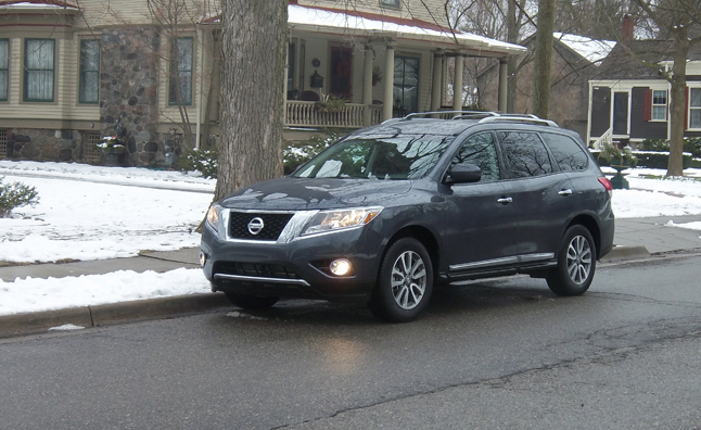 2013 Nissan Pathfinder Sl 4x4 Review Car Reviews