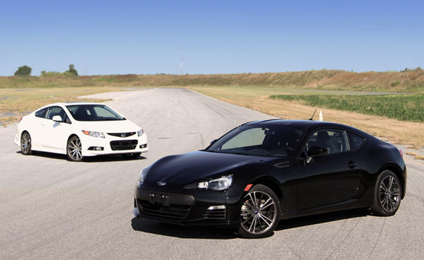 2013 Subaru BRZ vs 2012 Honda Civic Si HFP  Car Reviews