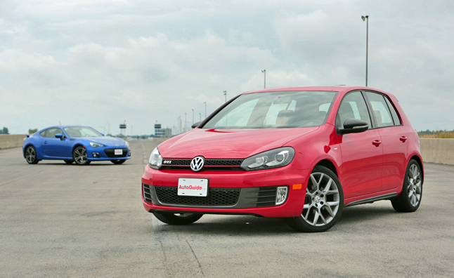 2013 Subaru BRZ vs 2013 VW Golf GTI