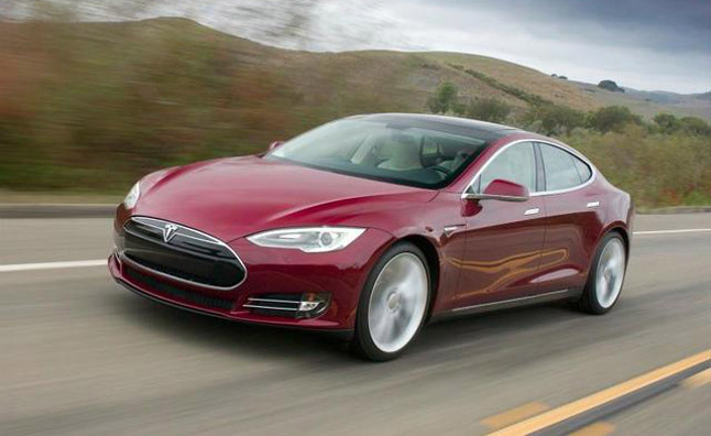 2013 Tesla Model S Images and Specifications