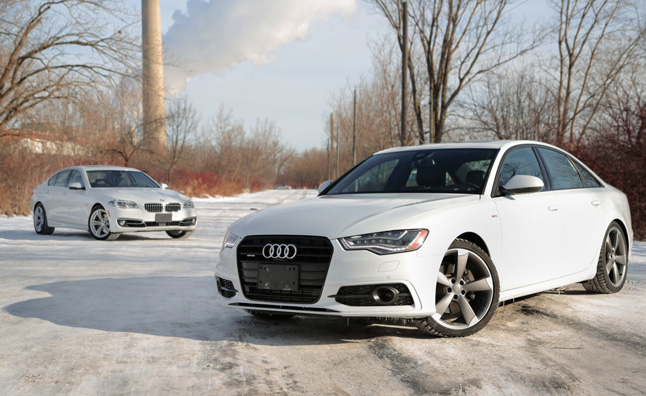 2014 Audi A6 TDI Vs BMW 535d