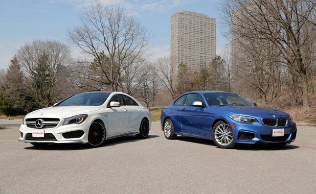 2014 BMW M 235i vs 2014 Mercedes-Benz CLA 45 AMG : Car Reviews