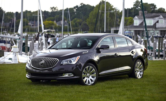 2014 Buick LaCrosse AWD Review: Car Reviews