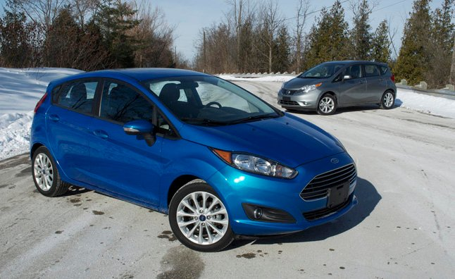 2014 Ford Fiesta Vs Nissan Versa Note Car Reviews