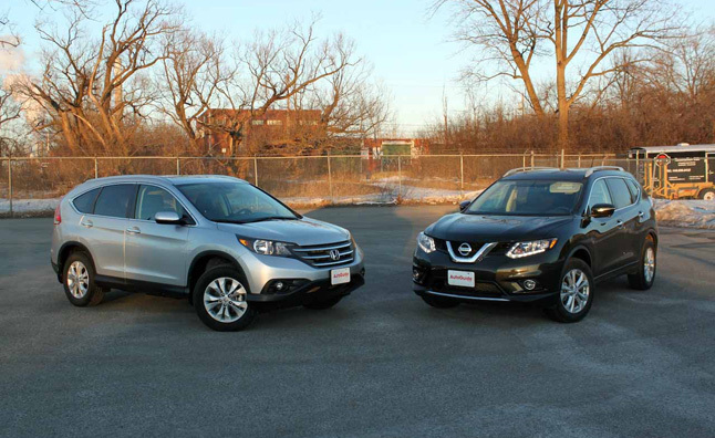 2015 toyota rav 4 vs honda crv vs nissan for Honda crv vs toyota rav4 2014