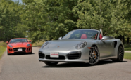 2014 Porsche 911 Turbo S Cab vs. 2014 Jaguar F-Type V8 S