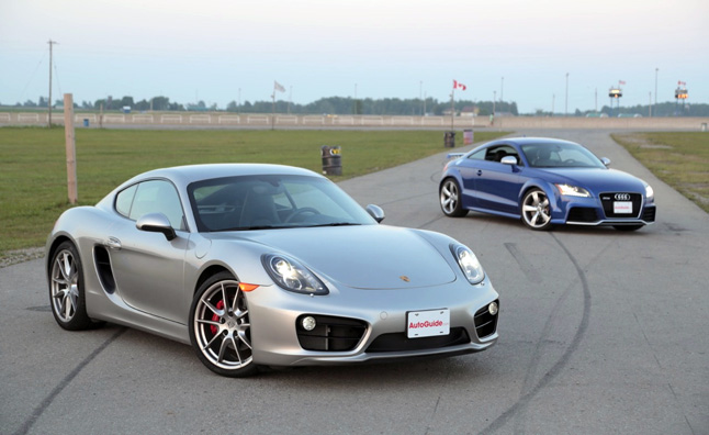 2014 Porsche Cayman S Vs 2013 Audi TT RS