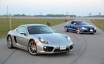 2014 Porsche Cayman S vs 2013 Audi TT-RS