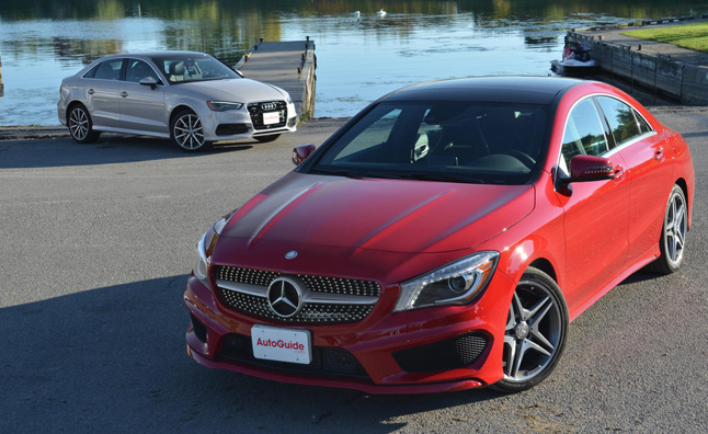 2014 Mercedes CLA250 4Matic vs 2015 Audi A3 2.0T