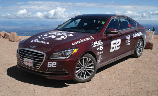 2015 Hyundai Genesis V6 AWD Review