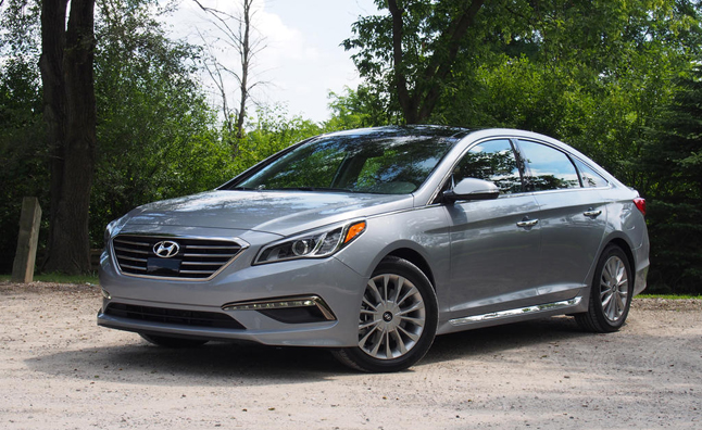 2015 Hyundai Sonata Limited Review Car Reviews