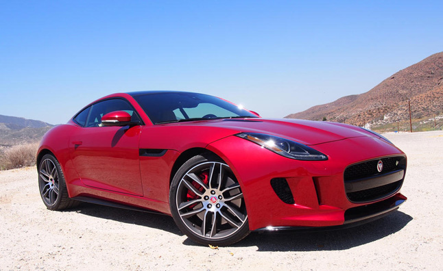 2015 Jaguar F Type R Coupe Review