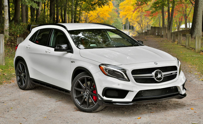 2015 mercedes benz gla 45 amg review car reviews. Black Bedroom Furniture Sets. Home Design Ideas