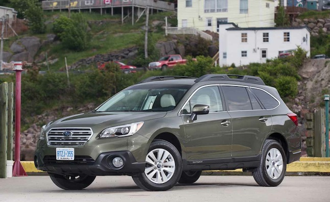 2015 Subaru Outback Review