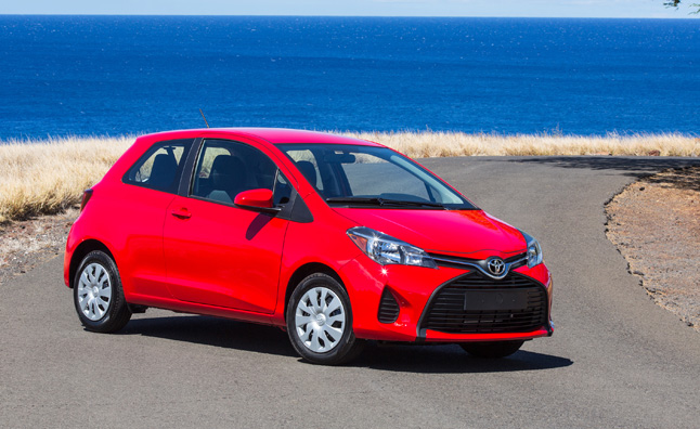 2015 Toyota Yaris Review