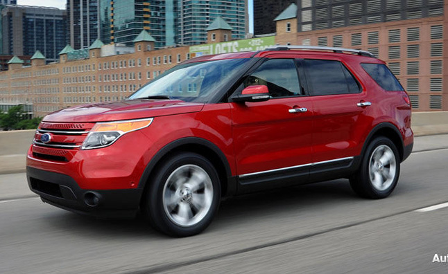 2012 Ford Explorer EcoBoost: First Drive