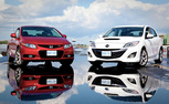 2012 Honda Civic Si vs. 2012 MazdaSpeed3 [Video]