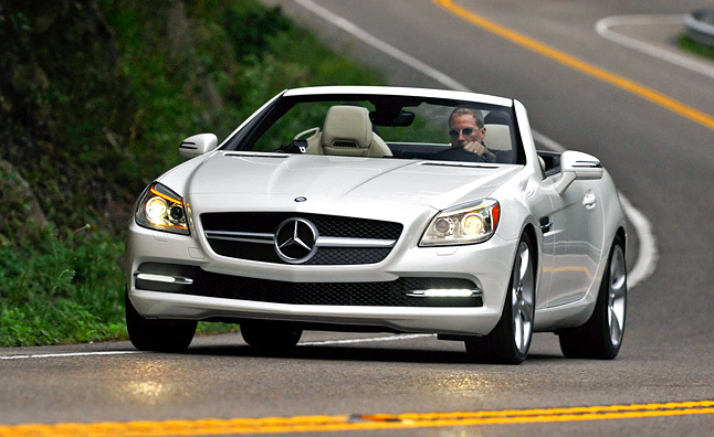 2012 Mercedes SLK350 Review [Video]