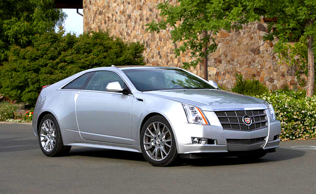 2011 Cadillac CTS Coupe Review: First Drive