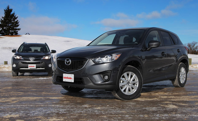 2014 Mazda CX 5 Vs 2013 Toyota RAV4