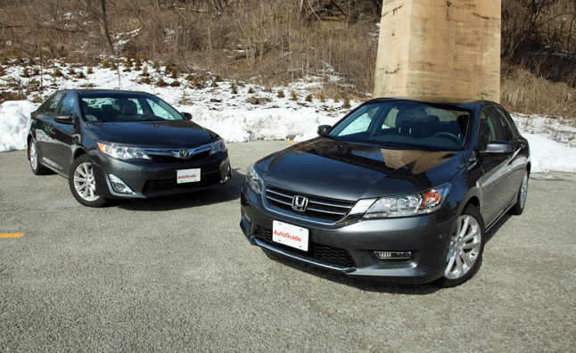 2013 Toyota Camry Vs 2013 Honda Accord Car Reviews