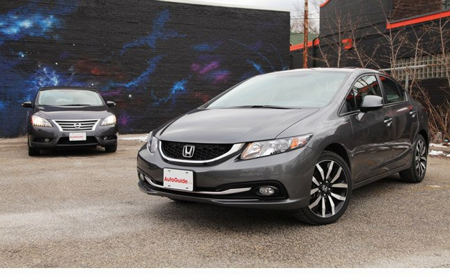 2013 Honda Civic Vs 2013 Nissan Sentra