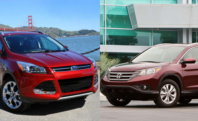 2012 honda cr v vs 2013 ford escape
