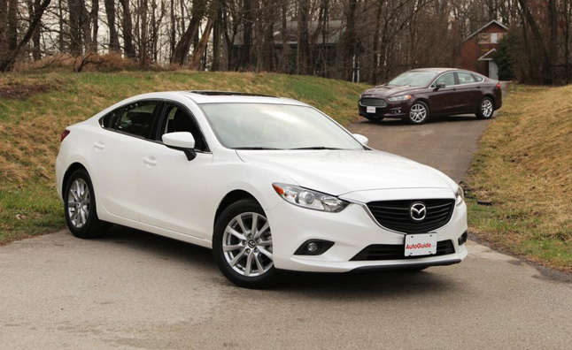 2013 ford fusion vs 2014 mazda6 : car reviews