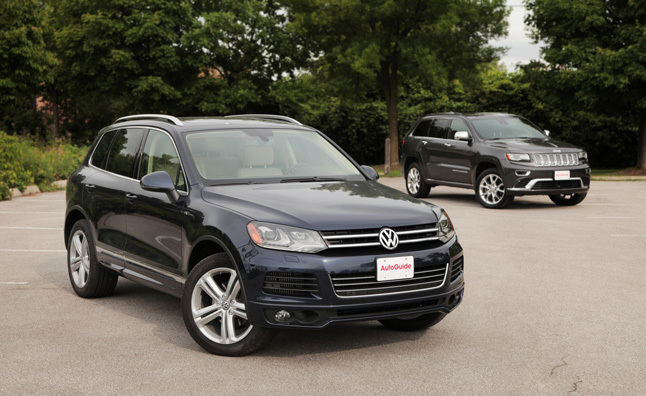 2014 Jeep Grand Cherokee Diesel Vs 2014 Volkswagen