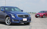 2014 Lexus IS 350 F Sport vs 2013 Cadillac ATS 2.0T