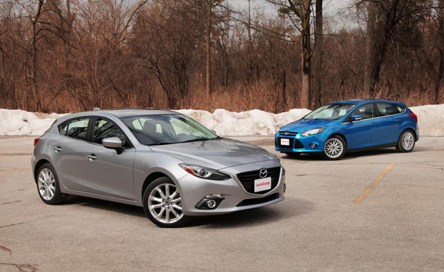 2017 Mazda3 Vs Ford Focus
