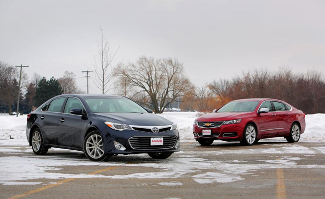2014 Chevrolet Impala vs 2014 Toyota Avalon