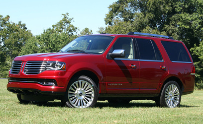 2015 Lincoln Navigator Review